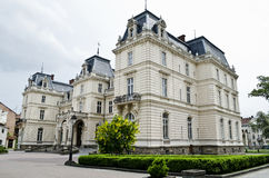 Potocki Palace in Lvov Royalty Free Stock Images