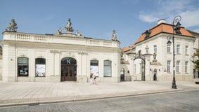 Potockich宫殿华沙波兰欧洲 库存图片