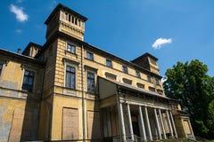 Potockipaleis in Krzeszowice (Polen) Royalty-vrije Stock Afbeelding