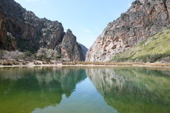 Potok De Pareis, Escorca, Mallorca, Hiszpania Zdjęcie Royalty Free