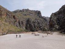 Potok De Pareis, Mallorca Zdjęcie Royalty Free