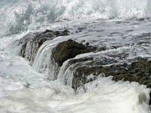 Potoki nad skałami Obrazy Stock