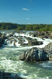 Potomac River. Great Falls, VA (View from the belvedere #3 on the Virginia side Stock Photo