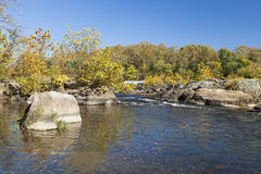 Potomac River in the Autumn Royalty Free Stock Photo