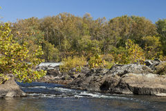 Potomac River in the Autumn Stock Image