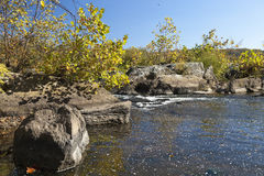 Potomac River in the Autumn Stock Photography