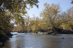 Potomac River in the Autumn Royalty Free Stock Images
