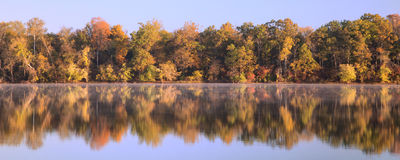Potomac River Fall Color Stock Photography