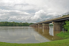 Potomac River Flooding Stock Image