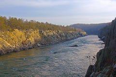 Potomac River near Washington DC, USA. Potomac River in Great Falls National Park in Virginia and Maryland, USA Stock Photography