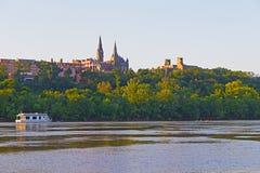 Potomac River at sunset in Washington DC, USA. Stock Photos