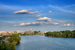 Potomac river, Washington DC Royalty Free Stock Image