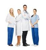Potomstwa drużyna lub grupa lekarki Zdjęcia Royalty Free