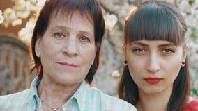 Potomstwa I stare kobiety zbiory