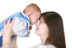 Potomstwa matka i dziecko Zdjęcie Stock