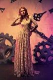 Potomstwa schudnięcia mody kobieta Fotografia Stock