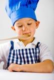 Potomstwo kucharz Zdjęcie Royalty Free