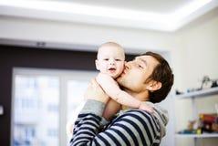 Potomstwo ojciec i jego dziecko fotografia royalty free
