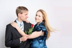 Potomstwo para w miłości Zdjęcia Stock