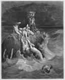 Potop ilustracja wektor