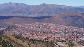 Potosi – one of the highest cities in the world. royalty free stock photography