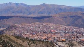 """Potosi †""""één van de hoogste steden in de wereld royalty-vrije stock fotografie"""