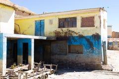 Potosi-Bergbaustadtansicht, Bolivien stockfoto