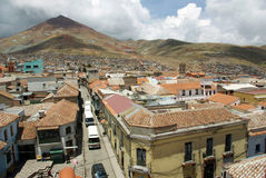 Potosi, Bolivia Fotografia Stock