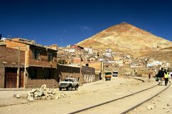 Potosi, Bolivia. This image shows the town of Potosi in Bolivia Royalty Free Stock Image