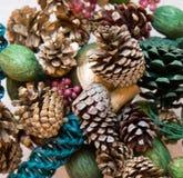 Potpourri. Seasonal potpourri, with multiple colors Stock Photo