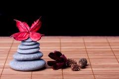 Potpourri arranged zen style Stock Images