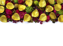 Potpourri Border Stock Photo