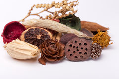 Potpourri - bottom focus Stock Photo