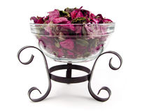 Potpourri Bowl Stock Photo