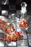 Potpourri with dried rose petals Stock Photo
