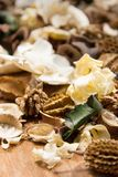 Potpourri,dry flowers Stock Photos
