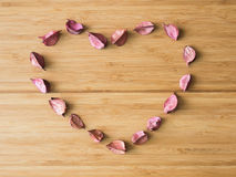 Potpourri heart. Royalty Free Stock Photo