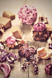 Potpourri used for aromatherapy Stock Image