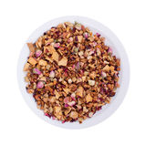 Potpourri on a white plate Royalty Free Stock Photography