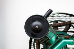 Potrójna butla Odwzajemnia Lotniczych kompresory na przemysle Zdjęcie Royalty Free