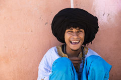 Potrait of a berber Stock Photos