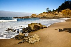 Potrait de la costa de Oregon Imágenes de archivo libres de regalías
