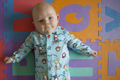 Potrait del bebé Foto de archivo libre de regalías