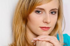 Porträt der Frau Lizenzfreies Stockfoto