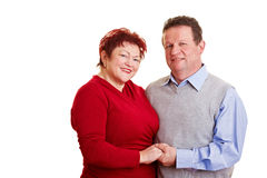 Potrait of happy elderly couple Stock Photo