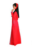 Potrait młody muzułmański Obraz Royalty Free