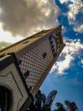 Potrait View Masjid. Potrait View is great Masjid at Palembang South Sumatera Indonesia stock images
