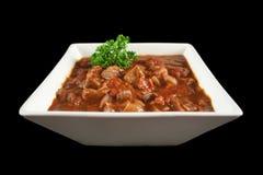 potrawka wołowiny Zdjęcie Royalty Free