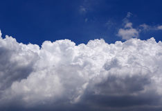 Potrebbe ed il fondo del cielo Fotografia Stock Libera da Diritti
