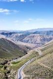 Potrerillo, Quebrada de Humahuaca, Jujuy, Argentina. Royalty Free Stock Photography